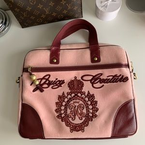 JUICY COUTURE VELOUR LAPTOP CARRYING CASE Cover 13